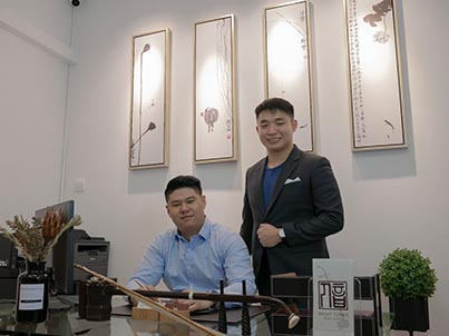 Eight Tones Music School Co Founders - Aaron and Daryl