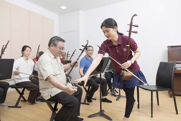 Erhu Group Lesson - Correcting Hand Posture