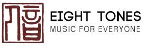 Logo of Eight Tones Music School for Chinese Orchestra Instruments Music